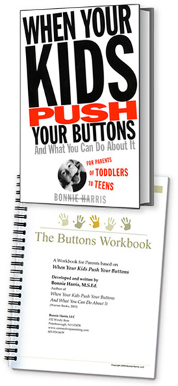 when your kids push your buttons book and workbook