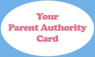 Authority Card