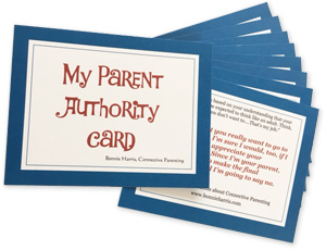 My Parent Authority Card